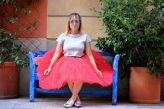 Street Style - Tulle Skirt - Jessica Neumann