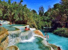 Terme di Saturnia, Toscana, Itália