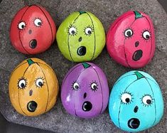 52 Best DIY Painted Rocks Remodel Ideas Perfect For Beginners - Ideaboz Rock Painting Ideas Easy, Rock Painting Designs, Painting For Kids, Diy Painting, Shell Painting, Halloween Painting, Autumn Painting, Pebble Painting, Pebble Art