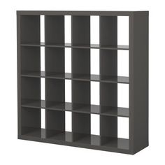 IKEA EXPEDIT Shelving Unit Bookcase High Gloss Gray ***DISCONTINUED***