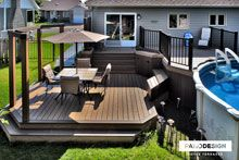 New patio exteriores con piscina ideas Design Patio, Covered Patio Design, Backyard Patio Designs, Garden Design, Backyard Ideas, Concrete Patios, Brick Patios, Small Backyard Patio, Pergola Patio