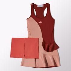 Adidas/Vestido de Tennis Stella McCartney Barricade New York Mujer Tennis Wear, Tennis Dress, Tennis Clothes, Diy Clothes, Clothes For Women, Stella Mccartney Adidas, Sport Outfits, Casual Outfits, Tennis Outfits