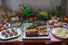 Bauernhof-Geburtstag
