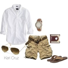 Summer, created by keri-cruz on Polyvore | Raddest Men's Fashion Looks On The Internet: http://www.raddestlooks.org