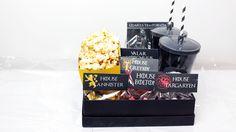 DIY - Kit Cinema para o dia dos namorados com tema Game of Thrones