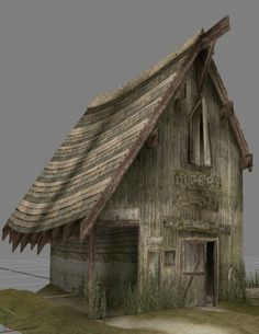 Old Livery Barn - ( Looks up Livery )   1. special uniform worn by a servant or official.  2. short for livery stable. I thought it was only the clothing thingy.   Cool Barn eh?