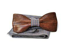 Fashion Adjustable Wood Men Classic Hand made Wedding Bow Tie Necktie #BowTie