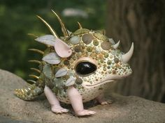 Cute little fantasy creature :)                                                                                                                                                     More