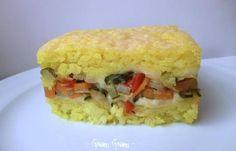 #Timballo di #riso allo #zafferano e #verdure  da provare!!!