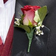 Dance with Me Boutonniere