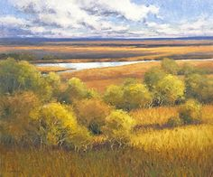 Autumn Casts Over the Hills by Kim Casebeer Oil ~ 30 x 36