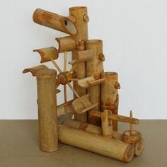 Bambus-Wasserspiel