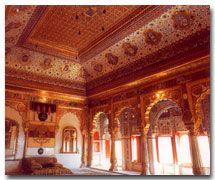 The Palace of Flowers, Mehrangarh Fort, Jodhpur, India
