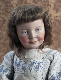 Dolls, A Moveable Feast: 25 Rare German Bisque Character Girl by Marseille