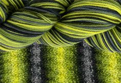 Firefly Self-Striping Yarn - Named after one of my favorite TV shows, AND looks awesome!