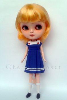 Blythe Dal Dress Sailor style dress 20 OFF Use by cherubcloset, $34.00