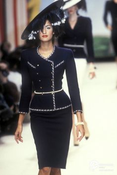 Chanel, Spring-Summer 1995, Couture on www.europeanafashion.eu