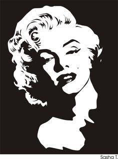 20 Trendy pop art painting black and white marilyn monroe Zeichnung Marilyn Monroe, Marilyn Monroe Dibujo, Marilyn Monroe Stencil, Marilyn Monroe Drawing, Marilyn Monroe Artwork, Marilyn Monroe Portrait, Marylin Monroe, Pop Art Marilyn, White Art