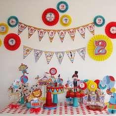 2 años de Benjamín - Circus /Carnival