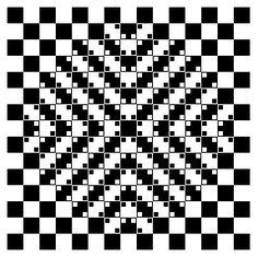 A Bulge Illusion - http://www.moillusions.com/bulge-illusion/