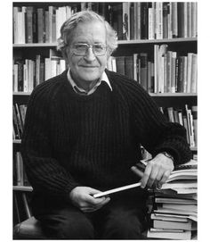 "I love Noam Chomsky. Good quote: ""Optimism is a strategy for making a better future. Because unless you believe that the future can be better, you are unlikely to step up and take responsibility for making it so."""