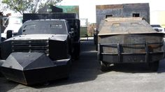 The Westerner: Mexican Cartels Moving Drugs in Armored Vehicles