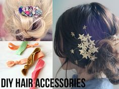Thanks, I Made It Myself: 8 Awesome DIY Hair Accessories