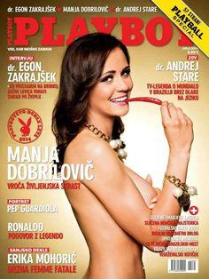 Manja Dobrilovic - Playboy July 2014 (7-2014) Slovenia
