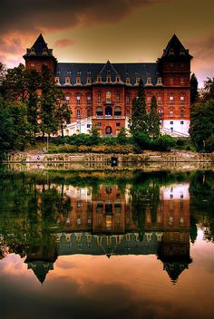 Savoy Palace on The Po River ~ Turin, Italy Piemonte