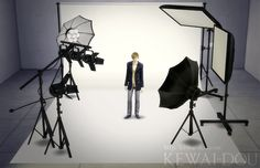 Sims 4 CC's - The Best: Photo studio sets by Kewai