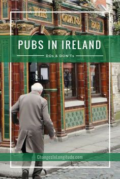 Understand the rules when visiting a pub in Ireland