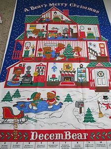 Vip Cranston Quot A Beary Merry Christmas Quot Advent Calendar Sew