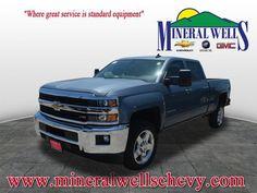 2015 Chevrolet Silverado 2500HD Crew Cab Standard Box 4-Wheel Drive LT