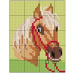 Diy Crafts Boys Vintage Sweater Diy Crafts 154881674655166522 P - Diy Crafts - hadido Pony Bead Patterns, Perler Patterns, Plastic Canvas Crafts, Plastic Canvas Patterns, Cross Stitch Charts, Cross Stitch Patterns, Crochet Horse, Baby Boy Knitting Patterns, Horse Pattern