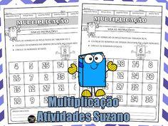 Multiplicação, seguindo as instruções EM PDF | Atividades Pedagogica Suzano