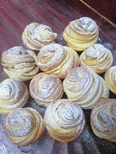 Hungarian Desserts, Hungarian Recipes, Fun Desserts, Dessert Recipes, Good Food, Yummy Food, Croatian Recipes, Winter Food, Brownie Recipes
