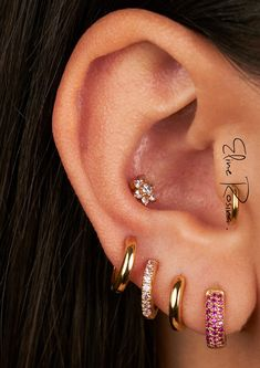 Fancy Earrings, Body Piercings, Luxury Jewelry, Girly Things, Jewerly, Jewelry Accessories, Bling, Cosmetics, Outfits