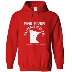 Pine River MN15 T-Shirts, Hoodies. BUY IT NOW ==► https://www.sunfrog.com/LifeStyle/Pine-River-MN15-6403-Red-51846617-Hoodie.html?id=41382