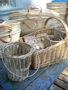 I'd fill my house with baskets, every shape and size possible. Decorative but practical