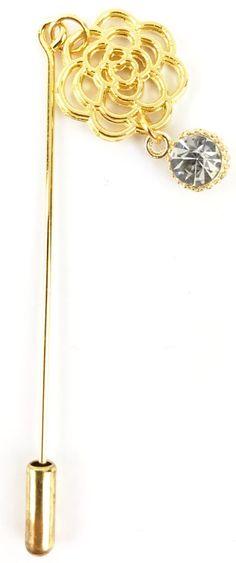 Delicate Rose Hijab Pin