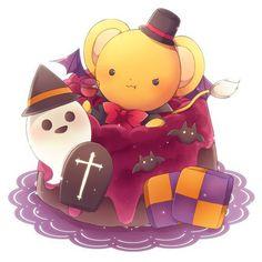 Kawaii Chibi, Cute Chibi, Anime Chibi, Kawaii Anime, Kero Sakura, Cardcaptor Sakura, Otaku Anime, Anime Halloween, Xxxholic