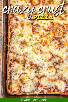 Ham Pizza, Biscuit Pizza, Flatbread Recipes, Pizza Recipes, Pizza Casserole, Thin Crust Pizza, Favourite Pizza, Island Food
