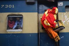 Passengers overwhelm trains heading home for Muslim holiday
