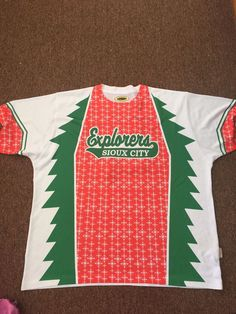 Sioux City Explorers Chirstmas In July Salavation Army  Size Xxl Game Issue from $100.0
