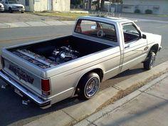 S10 Truck, Chevy Vehicles, Chevy S10, Mini Trucks, Mazda, Badass, Antique Cars, History, Classic