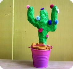 Mickaëlle Delamé: Cactus en papier mâché à l'Art & Création de Marma...