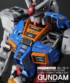Custom Build: PG 1/60 RX-78-2 Gundam Ver. HOONISEE [Detailed] - Gundam Kits Collection News and Reviews Gundam Wing, Gundam Art, Perfect Grade, Gundam Wallpapers, Gundam Mobile Suit, Gundam Custom Build, Gunpla Custom, Custom Paint Jobs, Super Robot