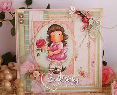 Tilda with Peony, Wedding Collection, Magnolia stamps