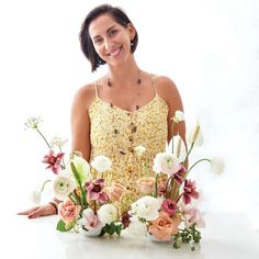 Monica Delgado shares her modern, fresh floral style - Flower Magazine Floral Pins, Floral Style, Floral Design, Cymbidium Orchids, Carnations, Rose Stem, Peace Lily, Traditional Looks, All Flowers