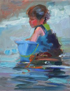 Daily Paintings By Elizabeth Blaylock, American Impressionist, in progress
